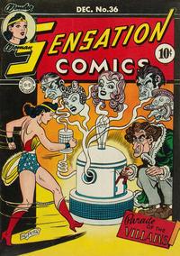 Cover Thumbnail for Sensation Comics (DC, 1942 series) #36