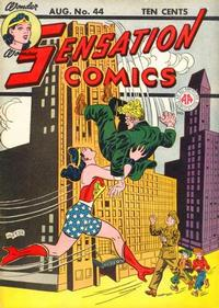 Cover Thumbnail for Sensation Comics (DC, 1942 series) #44