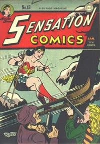 Cover Thumbnail for Sensation Comics (DC, 1942 series) #49
