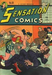 Cover Thumbnail for Sensation Comics (DC, 1942 series) #50