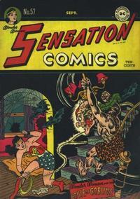 Cover Thumbnail for Sensation Comics (DC, 1942 series) #57