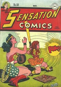 Cover Thumbnail for Sensation Comics (DC, 1942 series) #58
