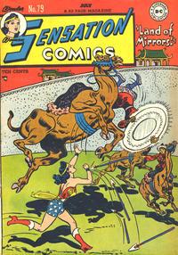 Cover Thumbnail for Sensation Comics (DC, 1942 series) #79