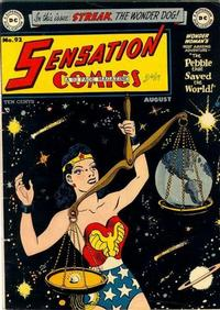 Cover Thumbnail for Sensation Comics (DC, 1942 series) #92