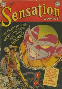 Cover Thumbnail for Sensation Comics (DC, 1942 series) #107