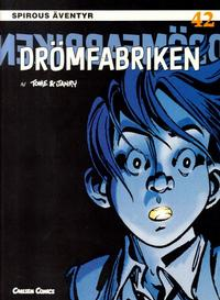 Cover Thumbnail for Spirous äventyr (Bonnier Carlsen, 1993 series) #42 - Drömfabriken