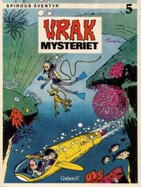 Cover Thumbnail for Spirous äventyr (Carlsen/if [SE], 1974 series) #5 - Vrakmysteriet