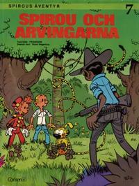 Cover Thumbnail for Spirous äventyr (Carlsen/if [SE], 1974 series) #7 - Spirou och arvingarna