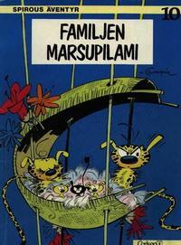 Cover Thumbnail for Spirous äventyr (Carlsen/if [SE], 1974 series) #10 - Familjen Marsupilami