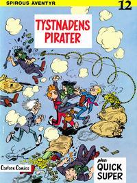 Cover Thumbnail for Spirous äventyr (Carlsen/if [SE], 1974 series) #12 - Tystnadens pirater