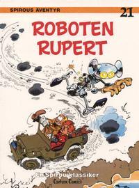 Cover for Spirous äventyr (Carlsen/if [SE], 1974 series) #21 - Roboten Rupert