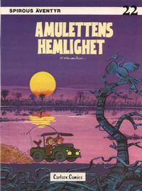 Cover Thumbnail for Spirous äventyr (Carlsen/if [SE], 1974 series) #22 - Amulettens hemlighet