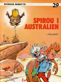 Cover Thumbnail for Spirous äventyr (Carlsen/if [SE], 1974 series) #29 - Spirou i Australien