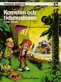 Cover Thumbnail for Spirous äventyr (Carlsen/if [SE], 1974 series) #32 - Kometen och tidsmaskinen