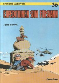 Cover Thumbnail for Spirous äventyr (Carlsen/if [SE], 1974 series) #36 - Expeditionen som försvann
