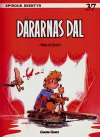 Cover Thumbnail for Spirous äventyr (Carlsen/if [SE], 1974 series) #37 - Dårarnas dal