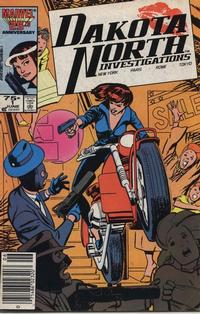 Cover Thumbnail for Dakota North (Marvel, 1986 series) #1 [Newsstand]