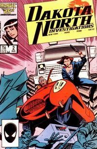 Cover Thumbnail for Dakota North (Marvel, 1986 series) #2 [Direct]