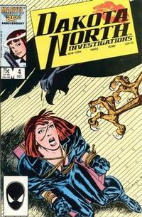 Cover for Dakota North (Marvel, 1986 series) #4