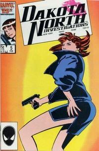 Cover Thumbnail for Dakota North (Marvel, 1986 series) #5 [Direct]