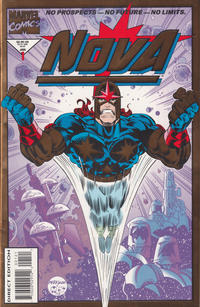 Cover Thumbnail for Nova (Marvel, 1994 series) #1 [Gold Foil Edition]