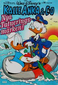 Cover Thumbnail for Kalle Anka & C:o (Hemmets Journal, 1957 series) #26/1987