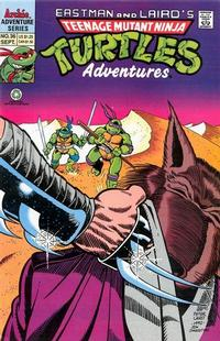 Cover Thumbnail for Teenage Mutant Ninja Turtles Adventures (Archie, 1989 series) #36
