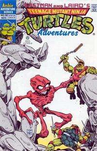 Cover Thumbnail for Teenage Mutant Ninja Turtles Adventures (Archie, 1989 series) #38