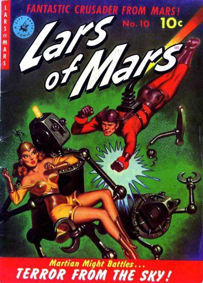 Cover for Lars of Mars (Ziff-Davis, 1951 series) #10