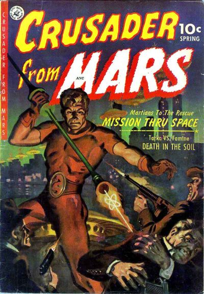 Cover for Crusader from Mars (Ziff-Davis, 1952 series) #1