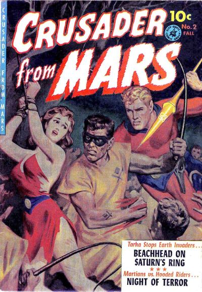 Cover for Crusader from Mars (Ziff-Davis, 1952 series) #2