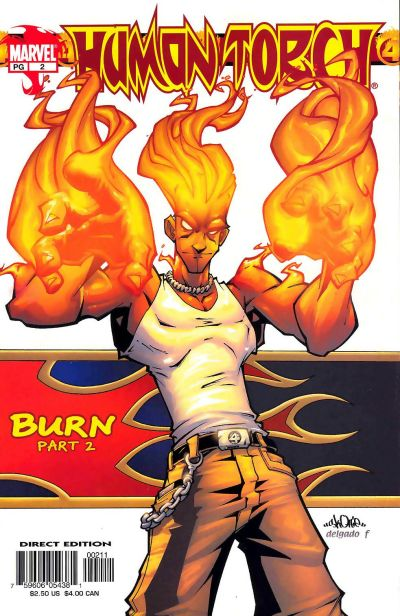 Cover for Human Torch (Marvel, 2003 series) #2