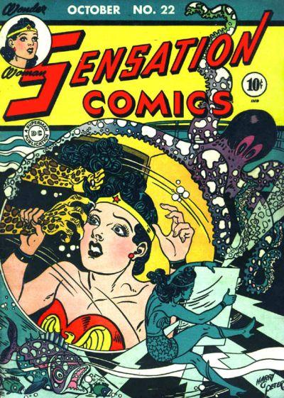 Cover for Sensation Comics (DC, 1942 series) #22