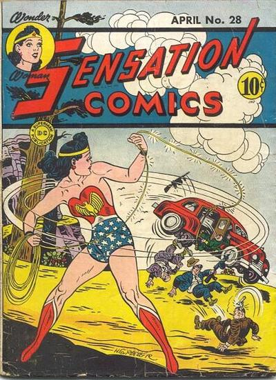 Cover for Sensation Comics (DC, 1942 series) #28