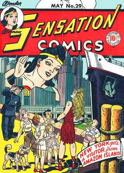 Cover for Sensation Comics (DC, 1942 series) #29
