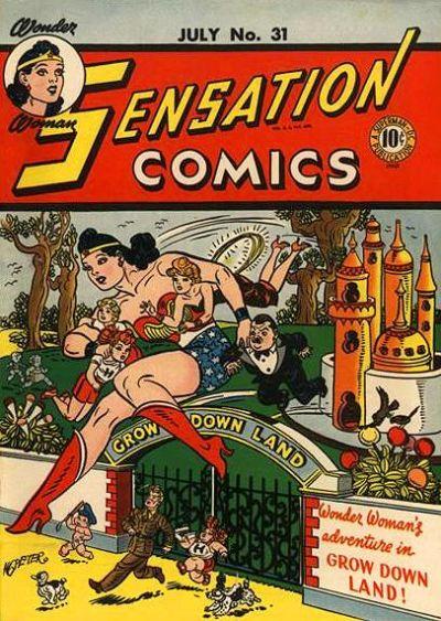 Cover for Sensation Comics (DC, 1942 series) #31