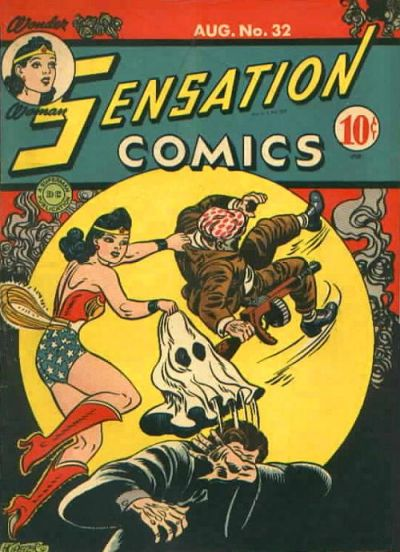 Cover for Sensation Comics (DC, 1942 series) #32