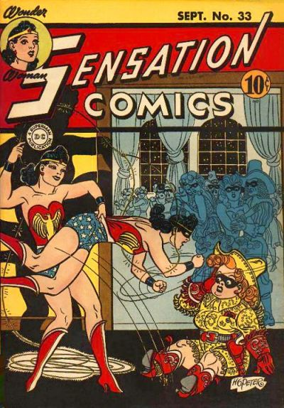 Cover for Sensation Comics (DC, 1942 series) #33