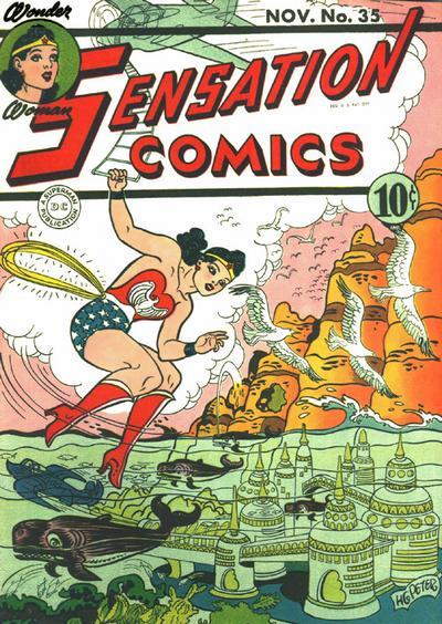 Cover for Sensation Comics (DC, 1942 series) #35