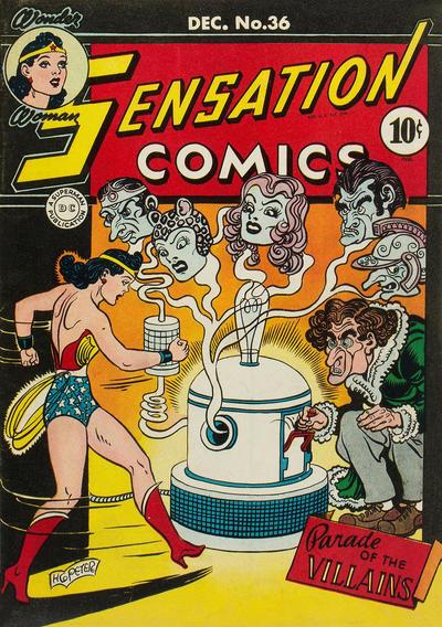 Cover for Sensation Comics (DC, 1942 series) #36
