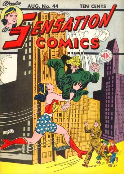 Cover for Sensation Comics (DC, 1942 series) #44