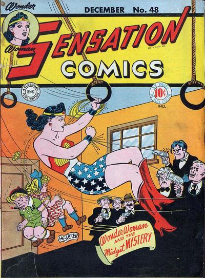 Cover for Sensation Comics (DC, 1942 series) #48