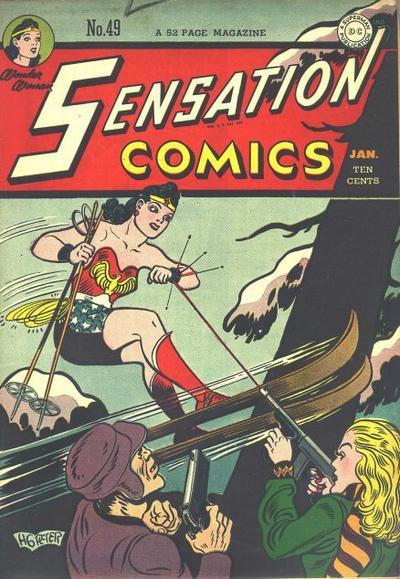 Cover for Sensation Comics (DC, 1942 series) #49
