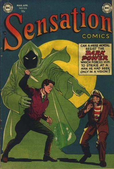 Cover for Sensation Comics (DC, 1942 series) #108
