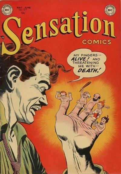 Cover for Sensation Comics (DC, 1942 series) #109