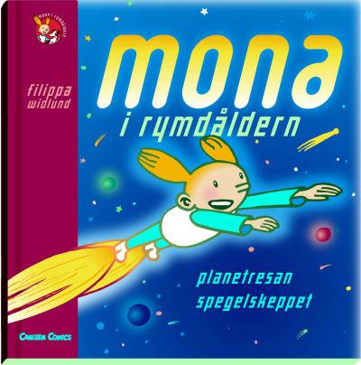 Cover for Mona i rymdåldern (Bonnier Carlsen, 2002 series) #[nn]