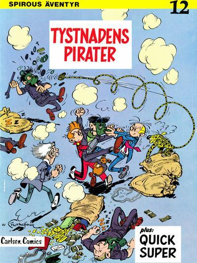 Cover for Spirous äventyr (Carlsen/if [SE], 1974 series) #12 - Tystnadens pirater