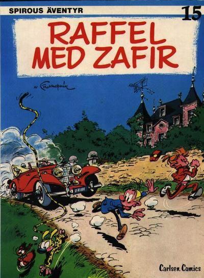 Cover for Spirous äventyr (Carlsen/if [SE], 1974 series) #15 - Raffel med Zafir