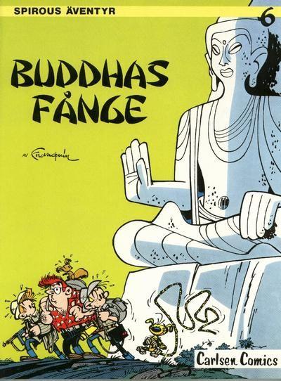 Cover for Spirous äventyr (Carlsen/if [SE], 1974 series) #6 - Buddhas fånge
