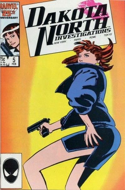 Cover for Dakota North (Marvel, 1986 series) #5